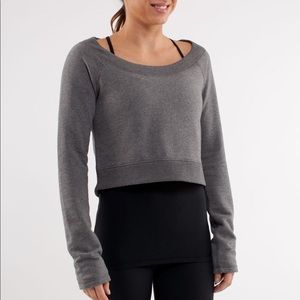 Lululemon Good Karma Cropped Pullover
